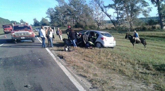 accidente en 015