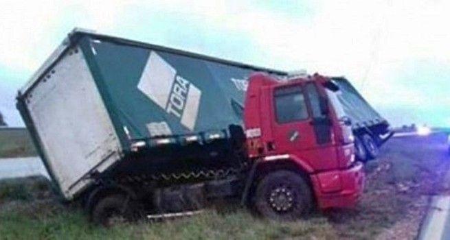 camion accidentado