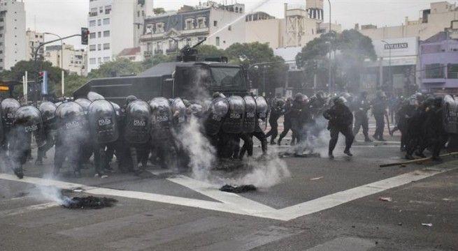 represión 9 de julio