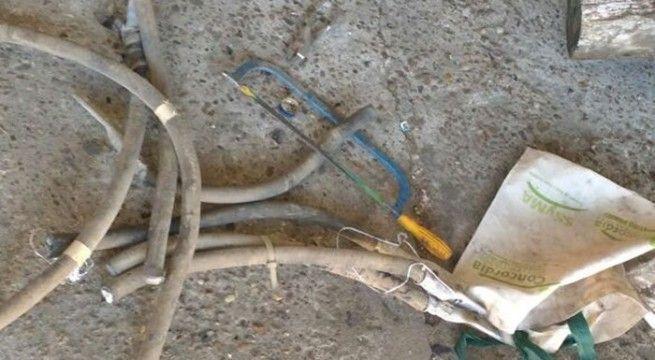 robo de cables