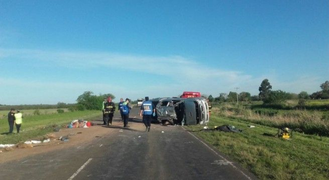 accidente en la ruta 18