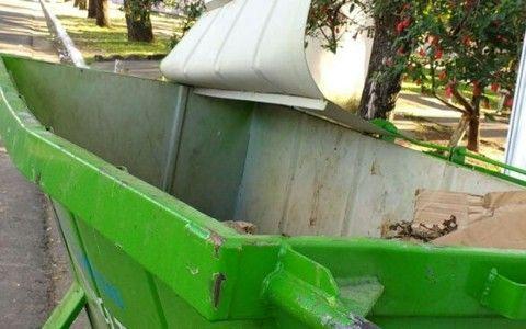 vandalismo contenedores