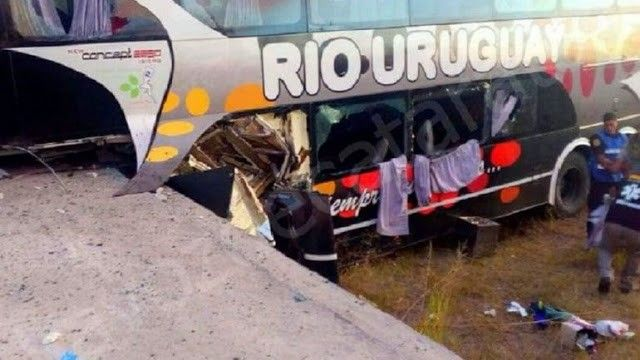 Accidente ruta 18