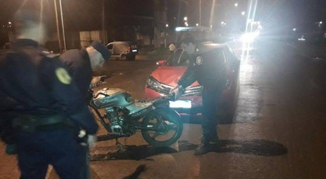 accidente moto menores