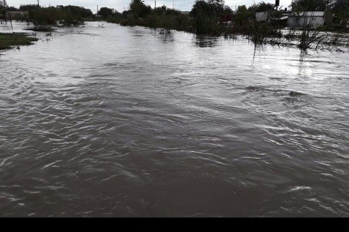 arroyos lluvia evacuados