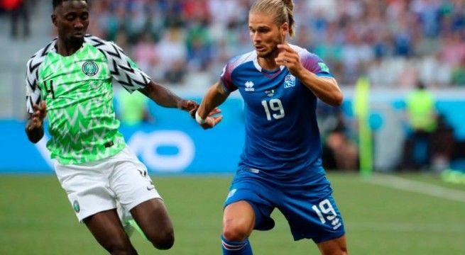 Nigeria venció a Islandia