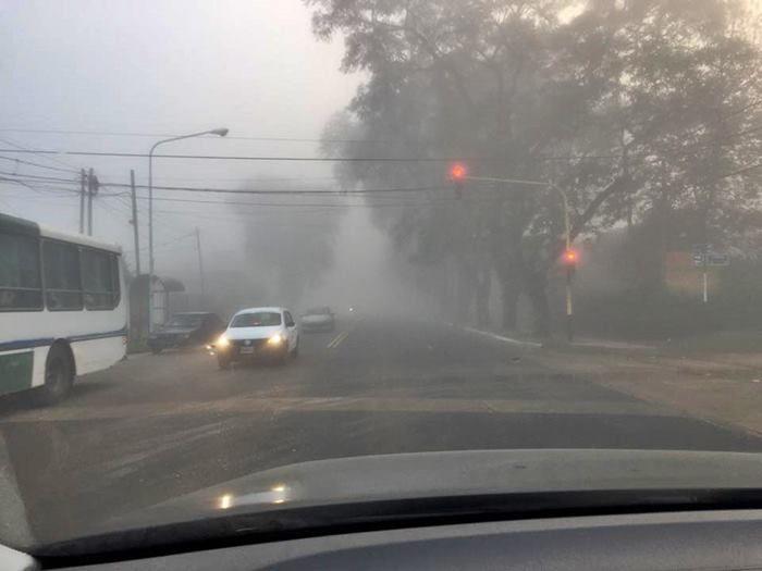 frio y niebla