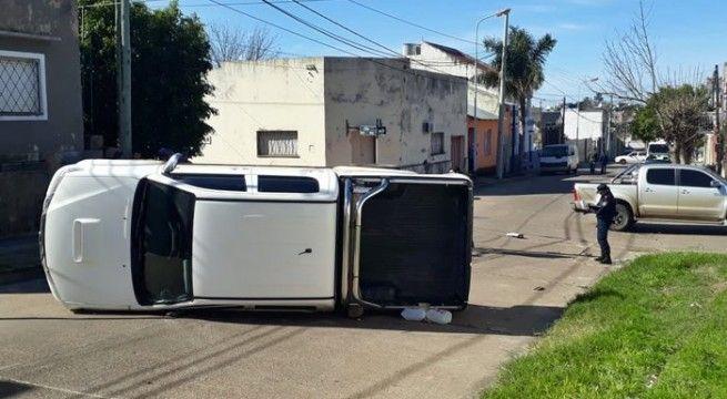 accidente camionetas