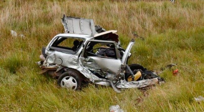 accidente ruta 14