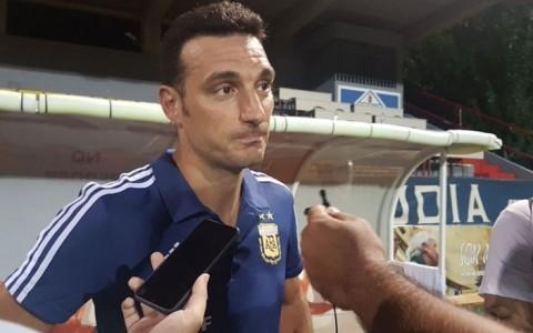 Lionel Scaloni, DT interino de la Selección Argentina.