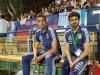 Lionel Scaloni y Pablo Aimaren el torneo de L´Alcudia. Foto: Clarin.