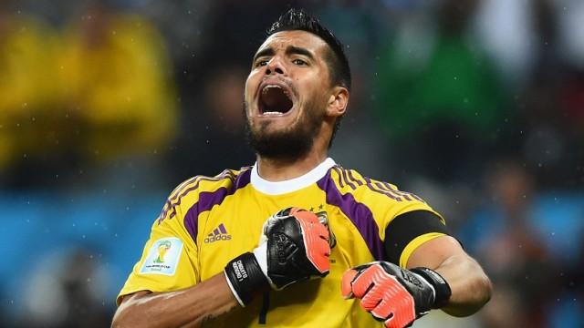 Uno que vuelve: Sergio Romero, la figura de los penales contra Holanda en Brasil 2014.