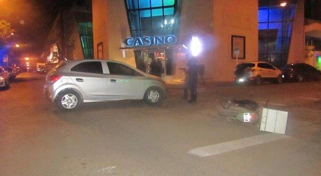 choque en el casino
