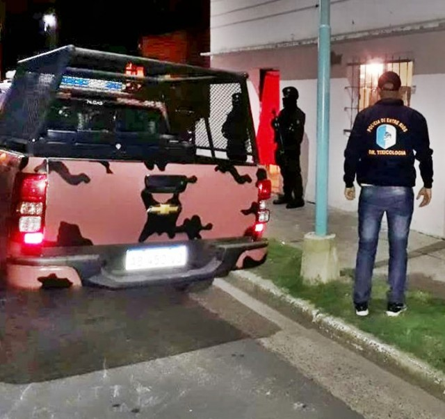 allanamientos policia